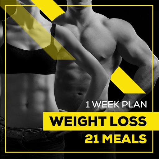 weight loss meal plan 1 WEEK WEIGHT LOSS 21 MEALS
